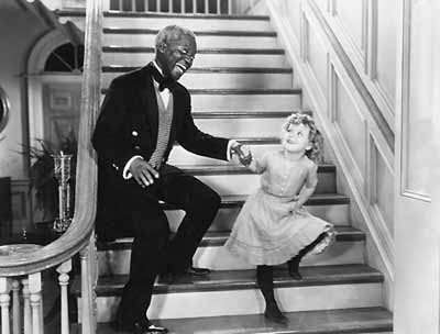 "Bill ""Bojangles"" Robinson and Shirley Temple in The Little Colonel"