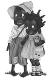 Image result for female blackface caricature